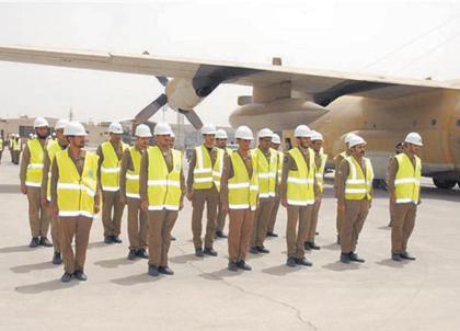 القوات الجوية السعودية تشارك الدفاع المدني في مهمة العيص ...